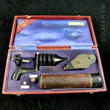 Cased Ophthalmic  Medical Instrument.