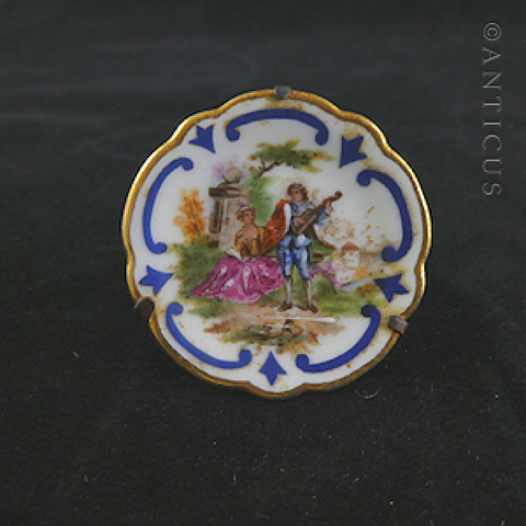 Handpainted Tiny Limoges Plate.