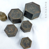 Metric Iron and Brass Weights for Scales.