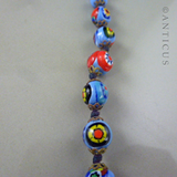 Venetian Glass Necklace, Early 20th Century.