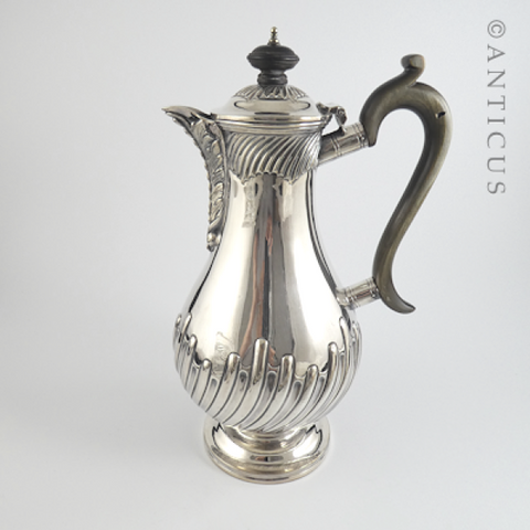 Victorian Elegant Hot Water Jug.