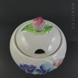 Carlton Ware Lidded Honey or Jam Pot.