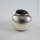 Sterling Silver Pin Cushion, 1902.