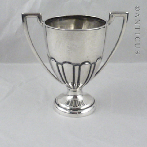 Sterling Silver Miniature Trophy Cup, 1921.