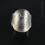 Silver Coin Ring, 1926.