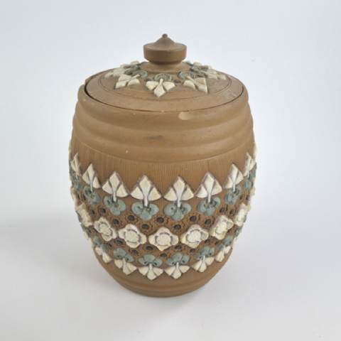 Doulton Silicon-ware Lidded Pot, Faults.
