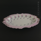 Royal Albert Oval Dish with Roses.