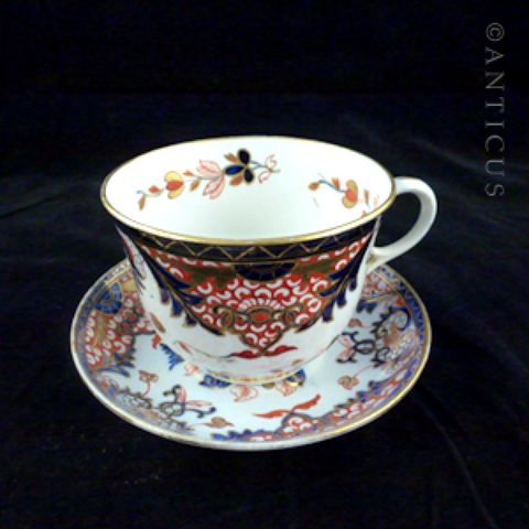 Bloor Derby Large Cup and Saucer.