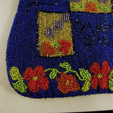 Antique Beaded Bag, Arts & Crafts Style Pattern.