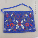 Arts and Crafts Beaded Evening Bag, Circa 1900.