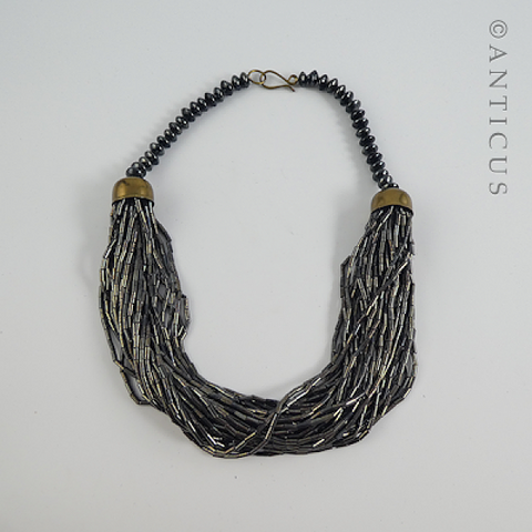 Multistrand Fashion Necklace.