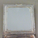 Sterling Silver Powder Compact, 1948.