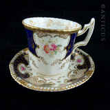 Antique Demi Tasse Coffee Cups and Saucers.
