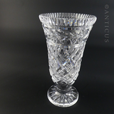 Waterford Crystal Vase, Vintage.