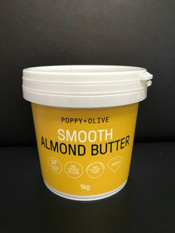 Poppy & Olive Smooth Almond Butter 1kg
