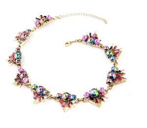 Rainbow Explosion Necklace