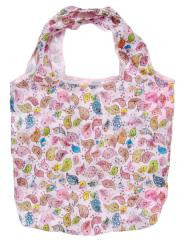 Creative Bird Folding Compact Eco Reusable/Recycling Shopping Bag PINK