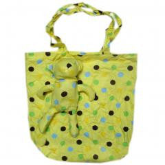 Creative Fashion Lovely Reusable Recycling Use Cotton Bag Yellow