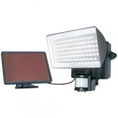 Solar-Powered 80-LED Motion-Activated Outdoor Security Floodlight
