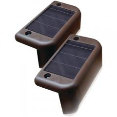 Solar-Powered Deck Lights