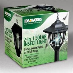 2 In 1 Solar Insect Light Case Pack 12