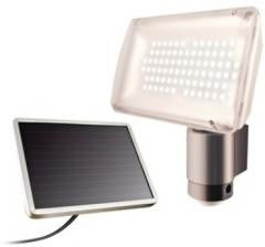 Solar Powered Aluminum 80 LED Motion Light