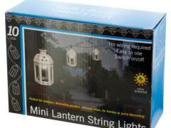 Lanterns Solar Powered LED String Lights Set
