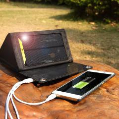 High-efficiency Portable folding Solar Energy Charger Power Bank