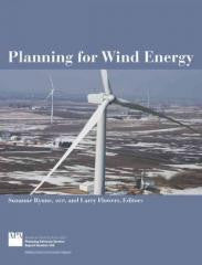 Planning for Wind Energy
