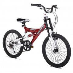 "Bicycle 20"" Super 20 Boys Dual Suspension"