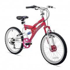 "Bicycle 20"" Rock Candy Girls Dual Suspension"
