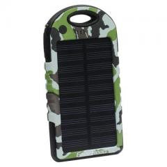 High Cap Solar Power black