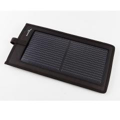 Portable Solar Charger, 3.0 Watts Output, Black