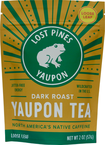 Dark Roast Yaupon Tea