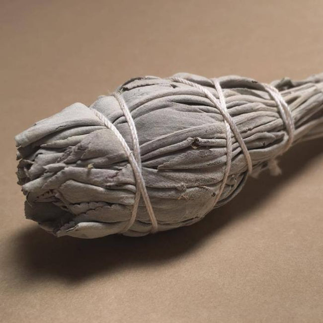WILD WHITE SAGE SMUDGE WAND - INCAUSA - the_raw_store