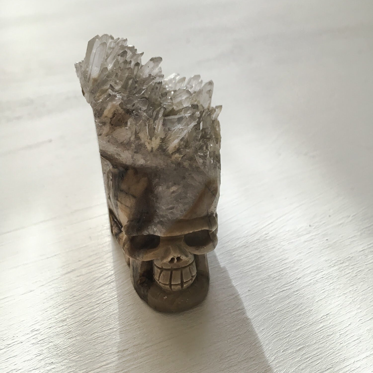 QUARTZ SKULL CLUSTER - the_raw_store