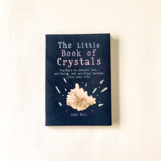 THE LITTLE BOOK OF CRYSTALS - JUDY HALL - the_raw_store