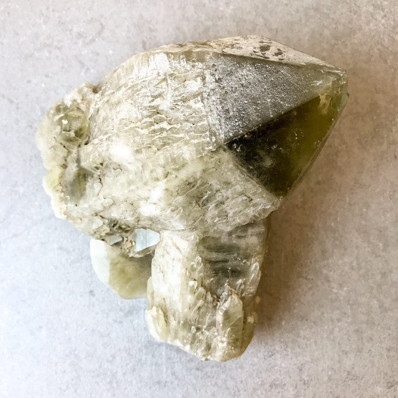RAW PRASIOLITE: GREEN PINEAPPLE QUARTZ - the_raw_store