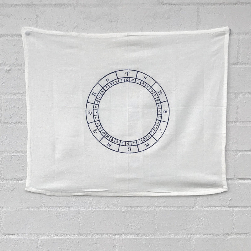 CRYSTAL GRID CLOTH: ASTROLOGY CHART - the_raw_store