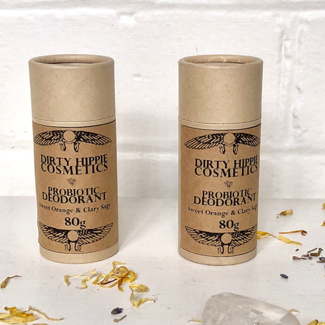NATURAL PROBIOTIC DEODORANT TOXIN FREE - DIRTY HIPPIE COSMETICS - the_raw_store
