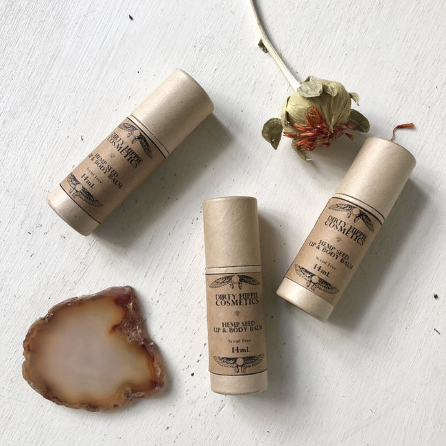 HEMP LIP & BODY BALM - DIRTY HIPPIE COSMETICS - the_raw_store