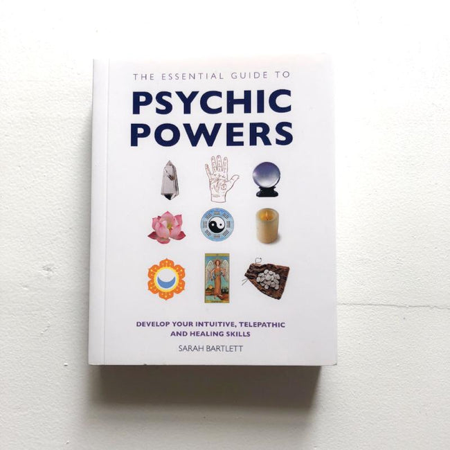 THE ESSENTIAL GUIDE TO PSYCHIC POWERS - SARAH BARTLETT *PRE ORDER JUNE DELIVERY*