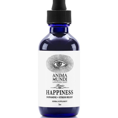 HAPPINESS TONIC: DOPAMINE + STRESS RELIEF - ANIMA MUNDI HERBALS - the_raw_store
