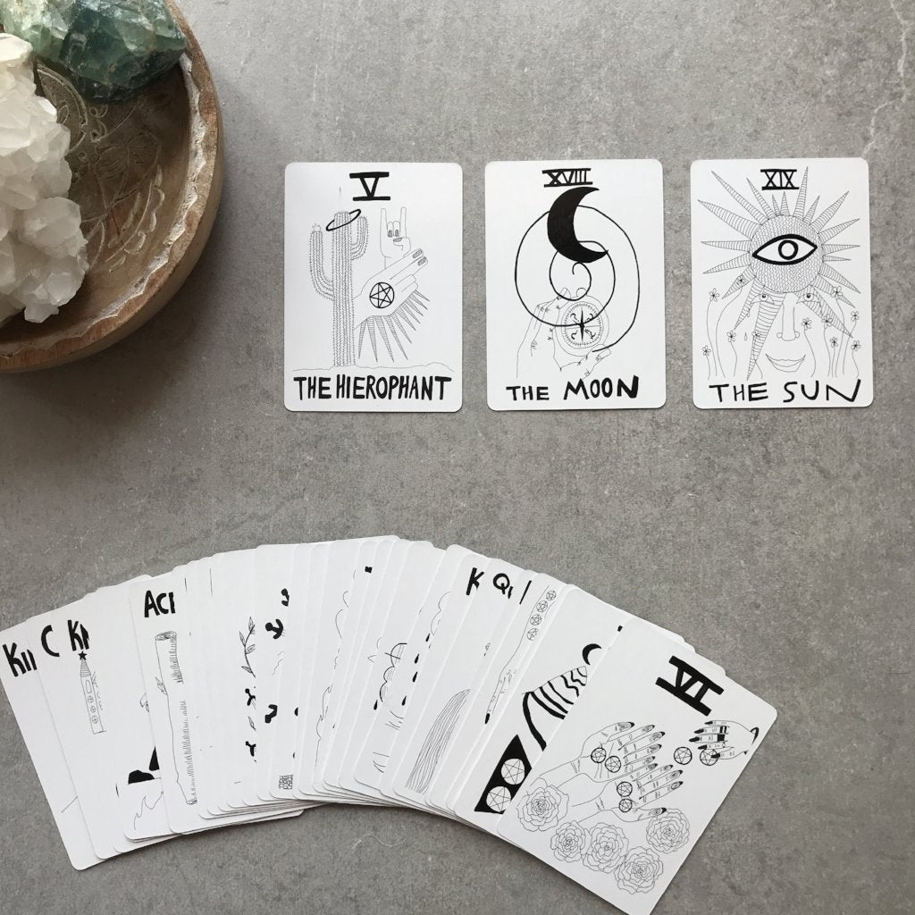 SPIRIT SPEAK TAROT - the_raw_store