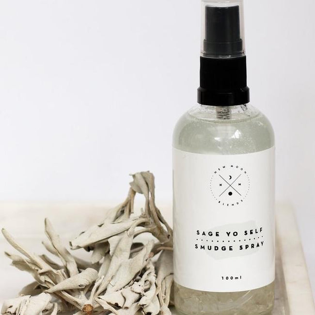SAGE YO SELF MIST - NEW MOON BLENDS - the_raw_store