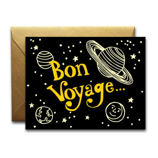 BON VOYAGE CARD - NATIVE BEAR - the_raw_store