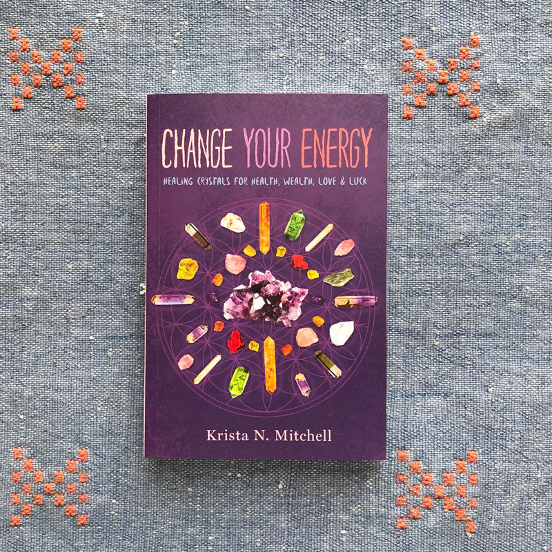CHANGE YOUR ENERGY - KRISTA N. MITCHELL