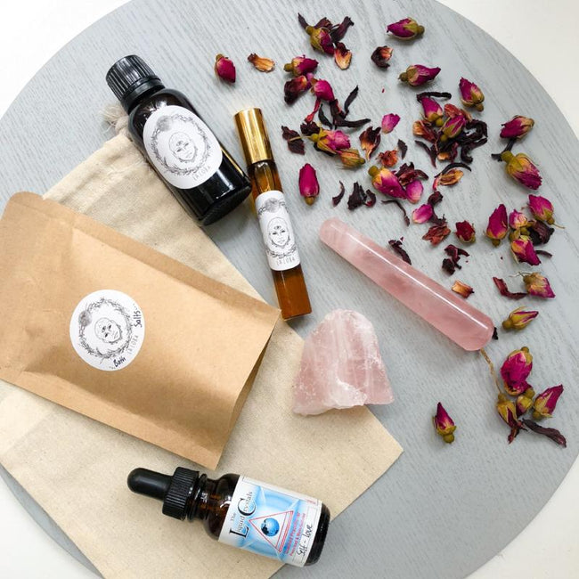 SELF LOVE GIFT PACK - LA LOBA HERBALISM - the_raw_store