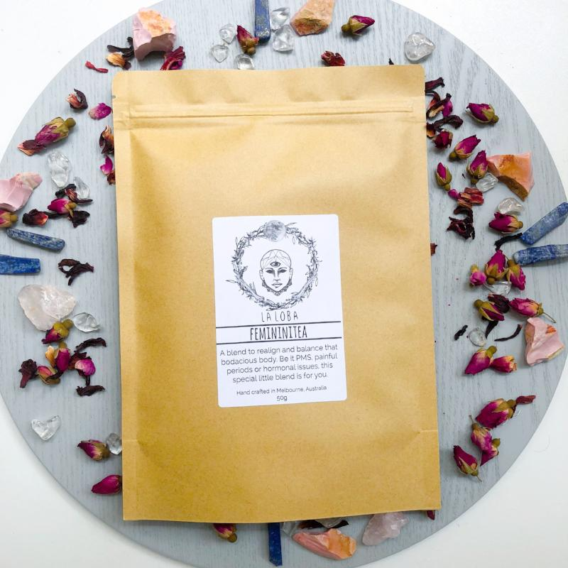 HERBAL TEA: MENSTRUAL WELLNESS - LA LOBA HERBALISM - the_raw_store