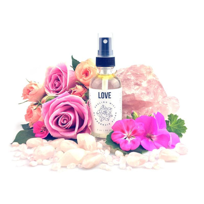 LOVE HEALING MIST - MAKENZIE FLYNN - the_raw_store